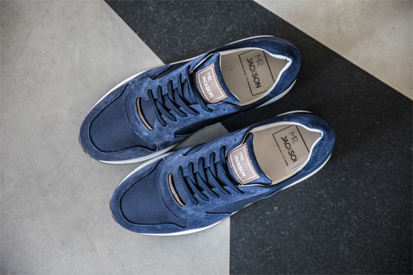 Mr. Jackson M1292 Sneakers Blauw